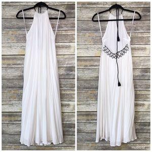 NWT Lou & Grey L Gorgeous beachy BoHo halter dress